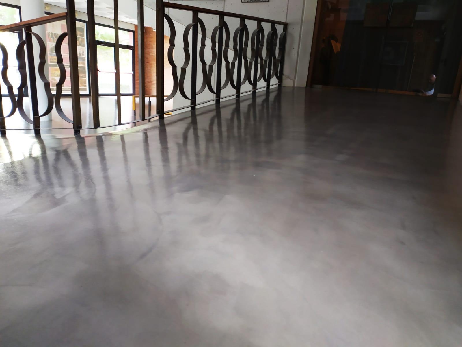 pavimento microcemento